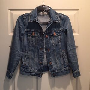 Madewell jean jacket in like new condition